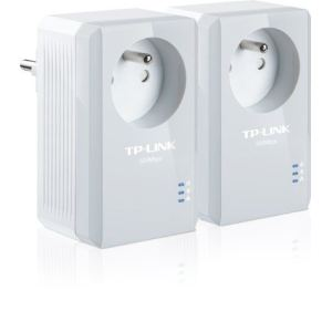 TP-Link TL-PA4015PKIT - Kit de 2 adaptateurs CPL AV500 avec prise intégrée