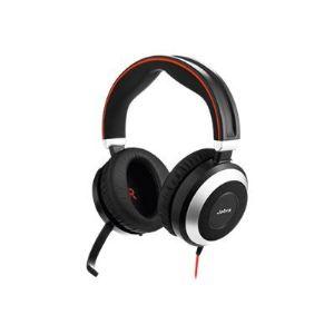 Jabra Evolve 80 UC Stereo - Casque avec microphone