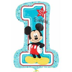 Amscan Ballon géant Mickey 1an (71 cm)