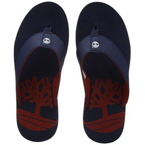 27c4d5bfb23c0 Timberland Wild Dunes, Tongs Homme, Bleu (Black Iris with Haute Red 019)
