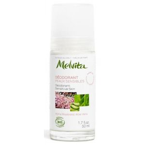 Melvita Déodorant peaux sensibles roll-on