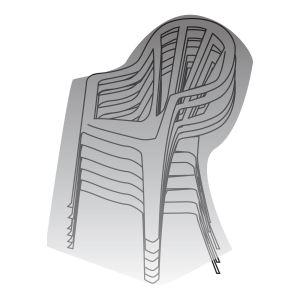 Housse Titanium pour 6 chaises