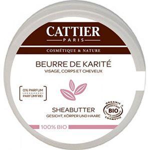 Cattier Beurre de Karité 100% Naturel format voyage