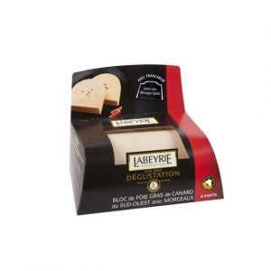 Labeyrie Bloc de foie gras de canard du sud ouest avec morceaux