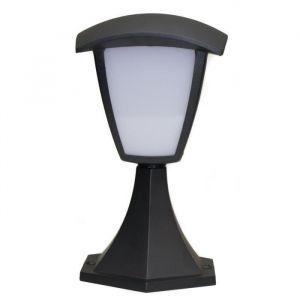 Dupi Borne extérieure LED Atlanta - 8 W - H 29 cm - LED - H 29 cm - 8 W - 590 Lumens - Blanc chaud - 3000K - Classe - II IP 54 - Acier inoxydable époxy - 4 faces