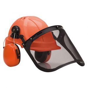 Portwest Casque de chantier Forestier Orange