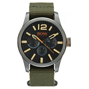 Hugo Boss 1513312 - Montre pour homme avec bracelet en tissu