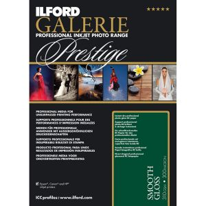 Ilford Galerie Prestige Smooth Gloss Paper A6 (10.2 x 15.2 cm) 310gr - 100 feuilles