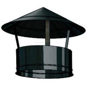 Ten Chapeau laqué noir inox dp Ø180-230 -