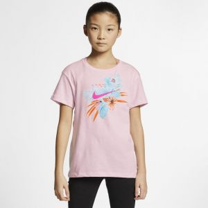 Nike Tee-shirt Sportswear pour Fille plus âgée - Rose Taille XS - Female