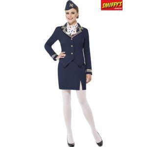 Smiffy's Déguisement hôtesse de l'air