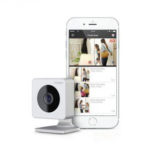 Y-cam Caméra de sécurité intérieur sans fil avec caméra Cloud Alertes de mouvement