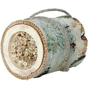 Luxusinsektenhotels Nichoir pour insectes «Cylindre pour abeilles solitaires»