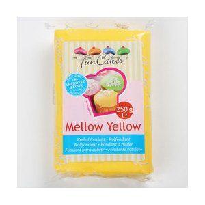 FunCakes Pâte à sucre jaune