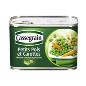 Cassegrain petits pois et carottes 1/2