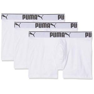 Puma Vêtements intérieurs -underwear Lifestyle Sueded 3 Pack - White - XXL