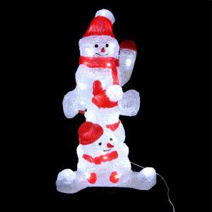 Ricou - Bonhomme de neige lumineux 48 LED
