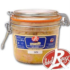 Domaine de Castelnau Foie gras de canard entier des Landes - Label Rouge (320g)