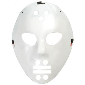 Ptit Clown Masque hockey blanc