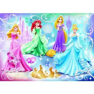 Nathan Puzzle Princesses Étincellantes 100 pièces