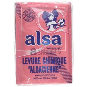 Alsa Levure Chimique Alsacienne 8 Sachets 88g