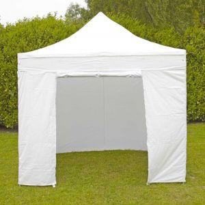 MobEventPro Mur porte zippable tente pliante PRO 40MM 4m blanc