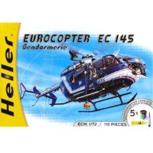 Heller 50378 - Maquette hélicoptère : Eurocopter EC 145 Gendarmerie - Echelle 1:72