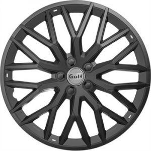 Gulf 4 enjoliveurs noir GT40 16 pouces