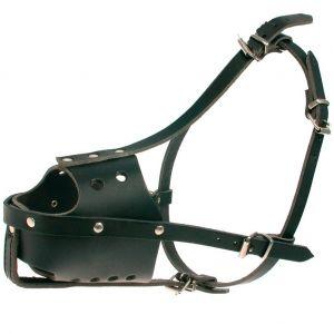 Zolux Museliere chien policier en cuir - Taille 3 - 52 cm - Noire