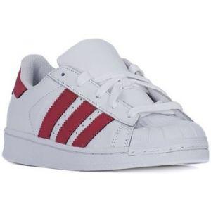 Adidas Superstar C, Chaussures de Fitness Mixte Enfant, Blanc (Ftwbla/Ftwbla/Negbás 000), 32 EU