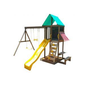 KidKraft LDD - Aire de Jeux en bois - Newport