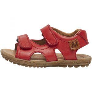 Naturino Sandales enfant SKY-Sandale en cuir rouge - Taille 21,22,23,24,25,27,29