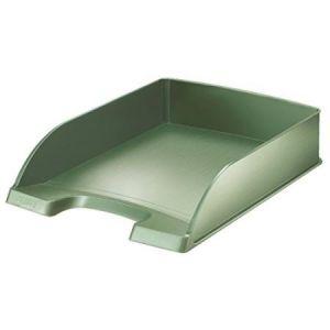 Leitz 5254-00-53 - Corbeille à courrier Style A4, en polystyrène choc, vert