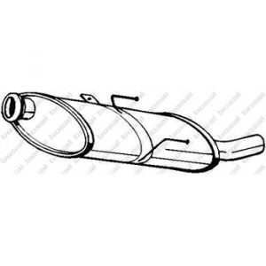 Bosal Silencieux arrière 190-833