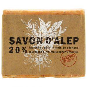 Tadé Savon d'Alep 20% laurier et olive