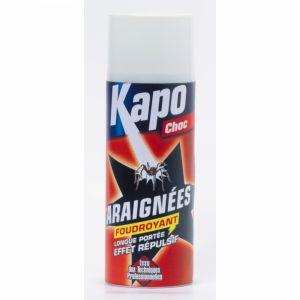 Kapo Insecticide aérososol anti-araignées - choc - longue portée - 400 ml