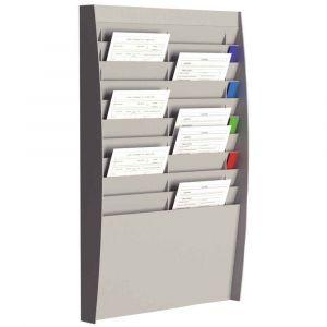 Paperflow Trieur vertical - 20 cases - A4 - L54,4 x H86,5 x P10,6 cm - gris