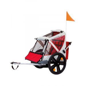 Bellelli Trailer Kids Bikes 2 Places Remorques pour enfant Red