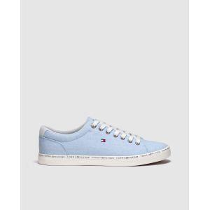Tommy Hilfiger Chaussures casual en toile à lacets Bleu - Taille 46
