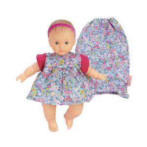 Petitcollin Bébé Léo 25 cm - Ecolo doll - Habillage Petite Anémone