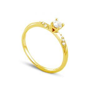 Rêve de diamants 3612030093111 - Bague en or jaune sertie de diamants