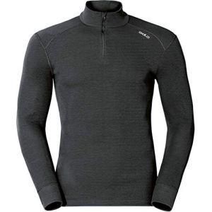 Odlo T-shirt à manches longues pour homme XL noir