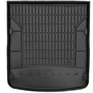 DBS Tapis de Coffre sur Mesure Caoutchouc 3D pour Audi A6 Break des 01/2012 - Matière : caoutchouc TPE - Zones de rangement latérales - Nettoyage facile - Installation rapide