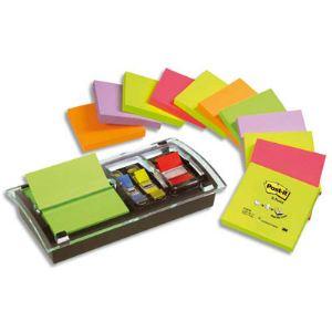 Post-It 12 blocs Z-notes support Milleniume 10 index standard 2,54cm (76x76 mm)