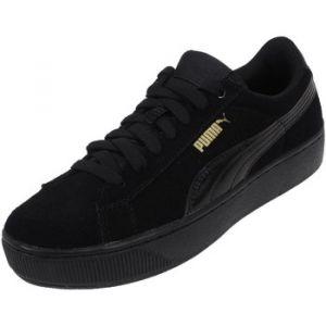 Puma Vikky Platform, Baskets Basses Femme, Noir (Black-Black), 40 EU