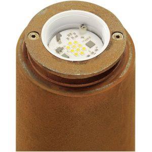 SLV Borne éclairage extérieur IP55 Rusty LED Rond 40 cm