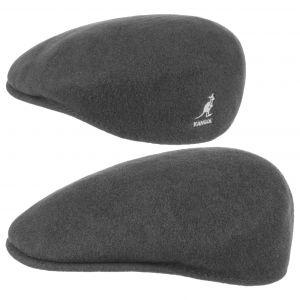 Kangol Bonnet Wool 504 - Mixte - Anthracite - XX-Large