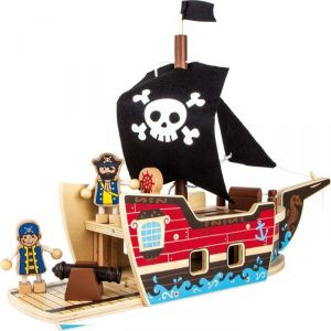 Legler 9538 - Jeu de construction bateau de pirate