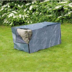 Nature Housse de coussin pour mobilier de jardin 150x75x75 cm 6031607