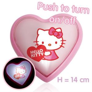 Veilleuse Hello Kitty Coeur
